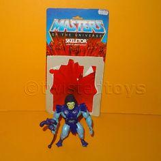 VINTAGE 1981 80s MATTEL MOTU HE-MAN SKELETOR FIGURE + CARD BACK RARE HALF BOOTS | Juguetes, Figuras de acción, TV, cine y videojuegos | eBay!