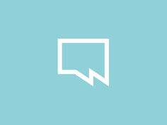 W___chat_speech_talk_bubble_design_symbol_by_alex_tass