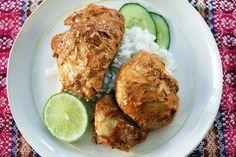 Tandoori-Baked Chicken Thighs