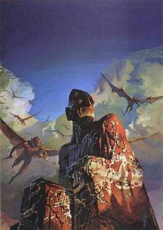 """The stone god awakens"", Bruce Pennington"