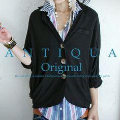 【楽天市場】antiqua original jacket series『ジャケットスタイルもUVで!』5月19日10時再販!欲しかった機能、総なめ。オリジナルジャケット##:antiqua