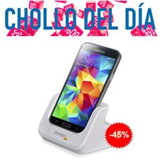 #Chollo del día! Base de carga para #Samsung! >45% descuento< #oferta http://mzof.es/blog/base-de-carga-samsung-galaxy-s5-y-s4-chollo-del-dia/254 No te la pierdas!! #mzof