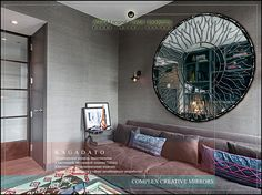 KAGADATO. Mirror - AFRICA. Total property - produced (the vast majority) with the use of technology Tiffany. Backlight, rotary mechanisms other specific hardware.