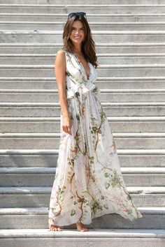 10 dresses you need in your closet now: Light and airy beach dress. Add accessories to make more formal.