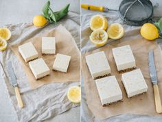 Raw Vegan Zesty Lemon Slice by The Minimalist Vegan