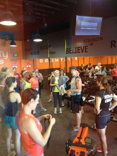 I love working out at Orangetheory Fitness featured in the Arizona Republic - Paradise Valley!