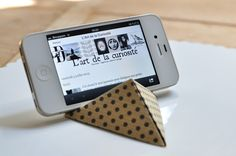 L'Art de la Curiosité: Billet d'été #1 : Un support origami