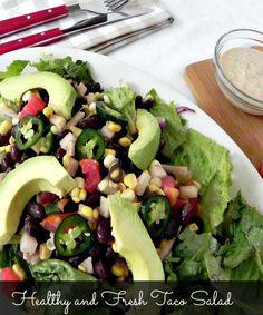 Easy taco salad reci
