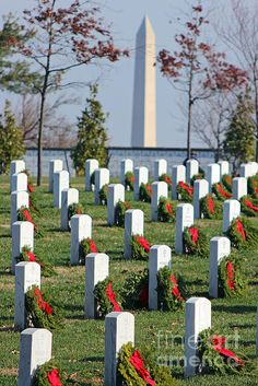 Arlington in December Wreaths Across America