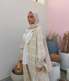 clothes plus size Modern Hijab Fashion, Modesty Fashion, Street Hijab Fashion, Abaya Fashion, Muslim Fashion, Modest Wear, Modest Outfits, Hijab Sport, Nude Outfits