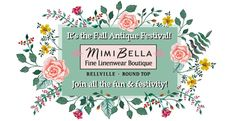 Cooler Air & A Hot Sale at MimiBella ~ The Antique Festival is Here!