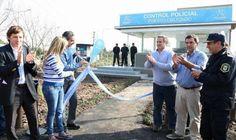 San Miguel inauguró un puesto policial en Barrio Obligado