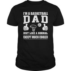 ab5d7082 I'm A Basketball Dad T Shirt Fathers Day Gift from $19 - Waneon - T-Shirts