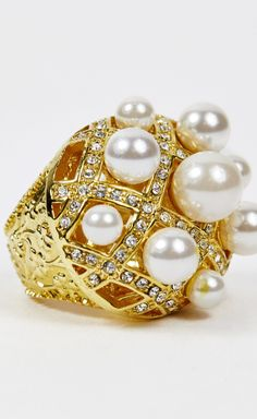 Samantha Wills Gold And Pearl Ring