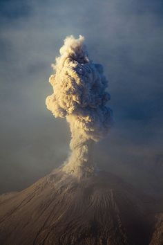 Life as it appears FROM MY FRONT DOOR #nature #photography #volcano