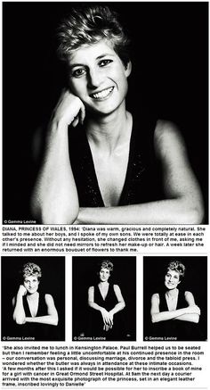 A Diana tribute and portraits taken by Gemma Levine
