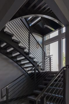 Steel staircase by Metal Transformations