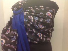 Licensed MLB New York Mets With Solid Royal by IndigosInMotion Ring Sling, Baby Sling, New York Mets, Baby Patterns, Alexander Mcqueen Scarf, Mlb, Royal Blue, Indigo, Couture