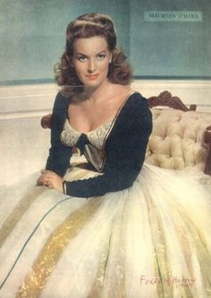 Maureen O'Hara - One of my favorite actresses! Probably because she is a fellow redhead!!