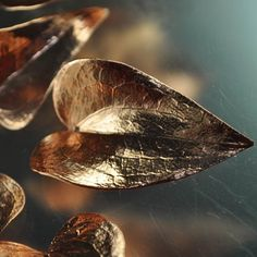 Plated Leaves - 40 mm Hart Ivy Leaf - Bright Copper (1) [s24313] - $6.90 : BeadFX Online, Canada's Favourite Beading Experience