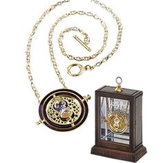 Hermione's time turner...every teacher should be allowed one of these.There are just not enough hours in the day! Totally wish it was real.