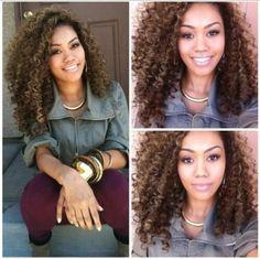 Very pretty curly girl