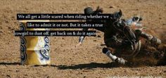now thats barrel racing
