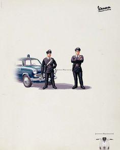 Vespa vs Police