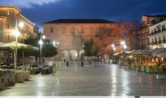 Syntagma Square Nafplion Greece, Island, Mansions, House Styles, Places, Travel, Home, Greece Country, Viajes