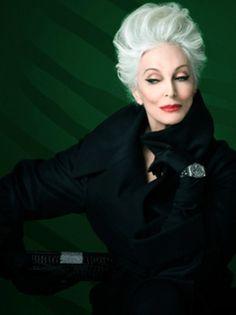 Carmen dell'Orefice for Rolex  Super model still at 81