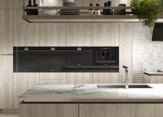 Dolce Stil Novo: Precision Meets Passion in the Modern Kitchen by SMEG Slate Appliances, Kitchen Aid Appliances, Domestic Appliances, Kitchen Cabinetry, Bosch Appliances, Electronic Appliances, Smeg Kitchen, Room Kitchen, Kitchen Ideas