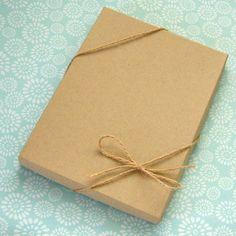 recycled brown cardboard packaging kraft paper box wholesale