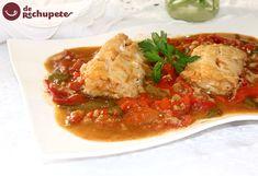 Seguimos con recetas para disfrutar la #SemanaSanta Bacalao a la tranca con pimientos asados http://www.recetasderechupete.com/bacalao-a-la-tranca-con-pimientos-asados/12636/ #receta