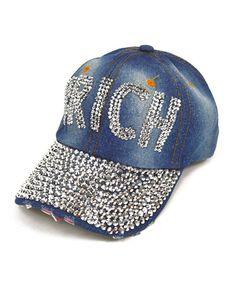 Selini NY Rich Stone Jeweled Cap bd659e505c1f