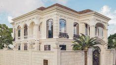 Best villa exteriors Desert Aesthetic, Classic House Design, Interior Design Companies, Exterior Design, Future House, Facade, Villa, Mansions, Architecture
