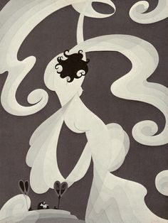 "by John Vassos, Circa 1931, part of the Salome Concept Series.  ""Dance Of The Seven Veils"""