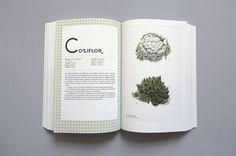 Las verduras de muchas maneras by Mot , via Behance