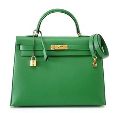 Hermes 35 cm Kelly Bengale gold hardware and an exotic surprise interior available mightykismet ebay SOLD