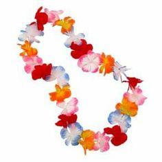 Hawaian party! Have a good time!