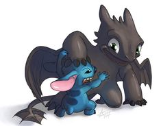 """Ohana - Family"" (Toothless and Stitch)  Pencils and Colored by: Denae Size: Denae on:  denaes_art/ and/or art_by_denae ***Check o. Stitch Drawing, Drawing Drawing, Toothless And Stitch, Lilo Et Stitch, Stitch And Angel, Cute Stitch, Cute Disney Drawings, Pikachu, Cute Dragons"