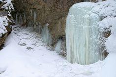 Zimné Janošíkové diery. Malá Fatra - Terchová