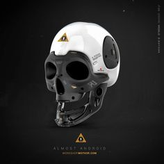 MOTH3R — Almost Human #3D Skull Follow me for the more...