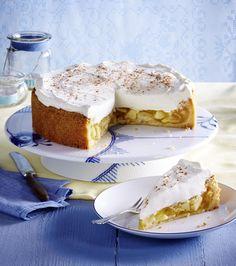 Unser beliebtes Rezept für Apfel-Schmand-Torte und mehr als 55.000 weitere kostenlose Rezepte auf LECKER.de.