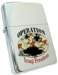 Zippo Lighter - Operation Iraqi Freedom | Flickr - Photo Sharing!