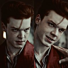 He makes a fantastic joker. The smile and everything. It's amazing. Cameron Monaghan, Gotham.