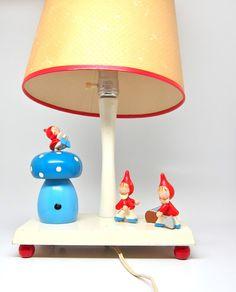 Vintage Childs Lamp Nursery Plastics Night Light by hensfeathers, $55.00