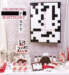 Crossword Birthday Party