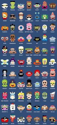 Printable Halloween Masks For Children. Over 77 fun and freaky masks to print out for only $12