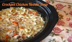 Crockpot Chicken Noodle Soup. #fast + #family friendly yummymummyclub.ca
