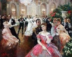 I chose this image as representative of the upper class during the Victorian era. In many of our readings throughout the semester grand balls and feasts were mentioned. Consequently, I have come to associate extravagant dances and dinner parties with the Victorian era. The upper class in this era lived quite ostentatiously and in all fairness it seems like a fun lifestyle if one is considered to be normal by their standards and accepted by their society.